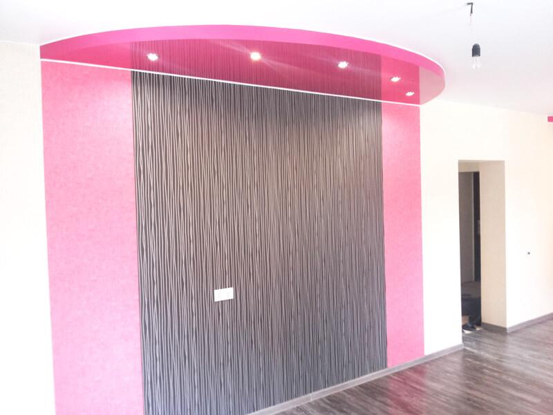 Фото из галереи - натяжной потолок 3d