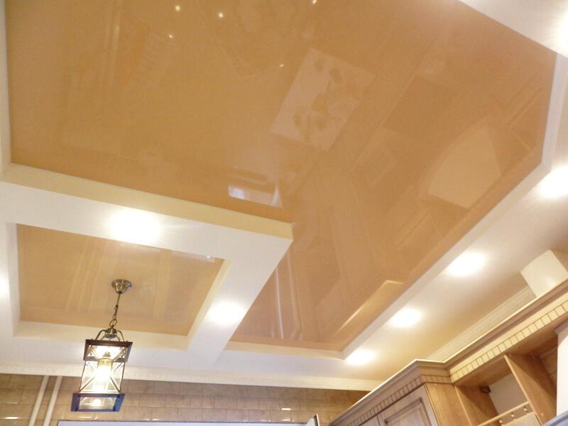Фото из галереи - натяжные потолки цветные