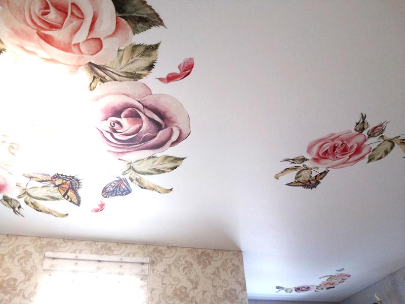 Фото из галереи - натяжные потолки в загородном доме