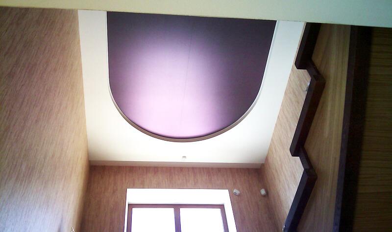 Фото из галереи - натяжные потолки фактурные