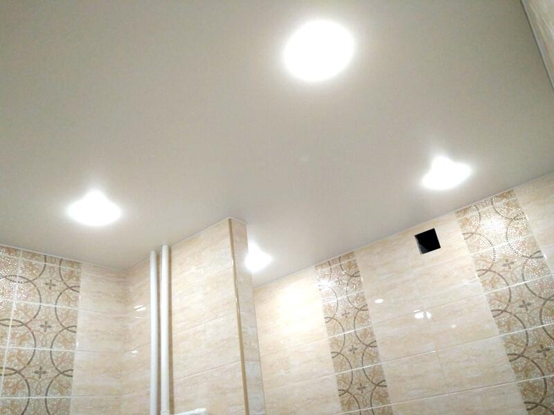 Фото из галереи - натяжные потолки матовые