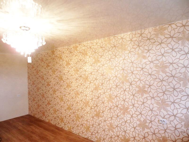 Фото из галереи - одноуровневые натяжные потолки