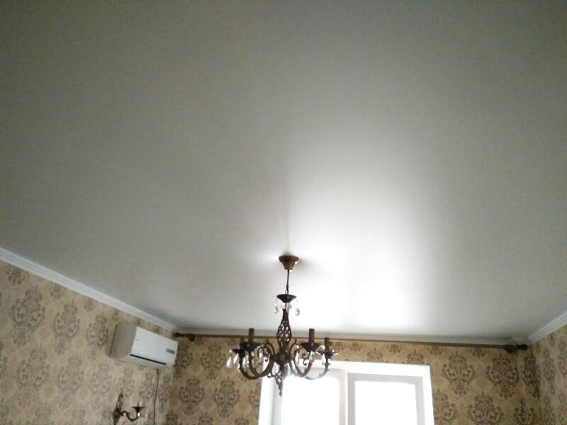 Фото из галереи - натяжные потолки сатиновые