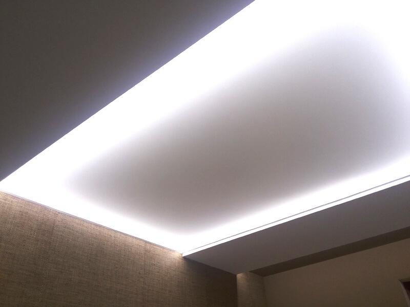 Фото из галереи - светопропускаемый натяжной потолок