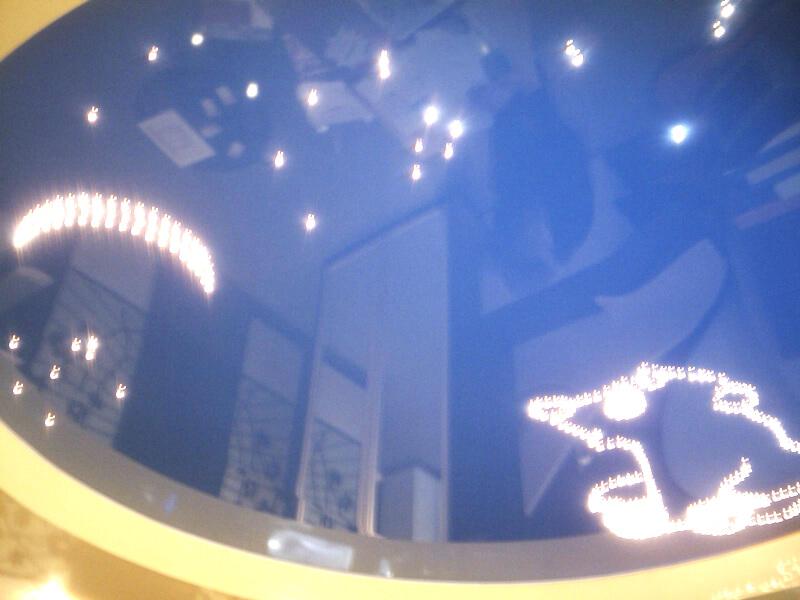 Фото из галереи - натяжные потолки звездное небо